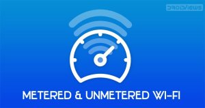 metered and unmetered wifi network