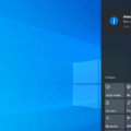 10 Ways to Fix Action Center Not Visible or Showing on Taskbar in Windows 10