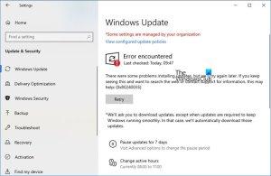 Windows Update Error 0x80240035