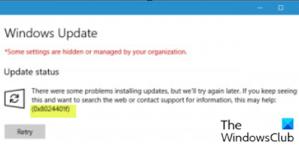 Fix Windows Update error 0x8024401f or 0x8024402f on Windows 10