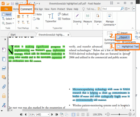 PDF Highlight Extractor software