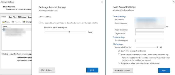 Outlook not sending emails in Windows 10 – With or Without attachments
