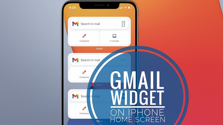 How To Add A Gmail Widget To The Iphone Home