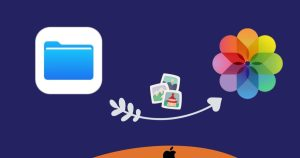 How to Save Pictures or Videos From Files to Photos App on iPhone and iPad