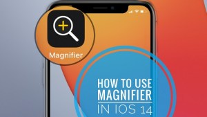 How To Use Magnifier On Iphone Home Screen (ios 14