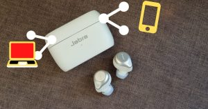 How to Connect Jabra Elite 85t to Laptop, iPhone and MacBook