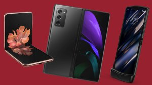 Foldable Android smartphones