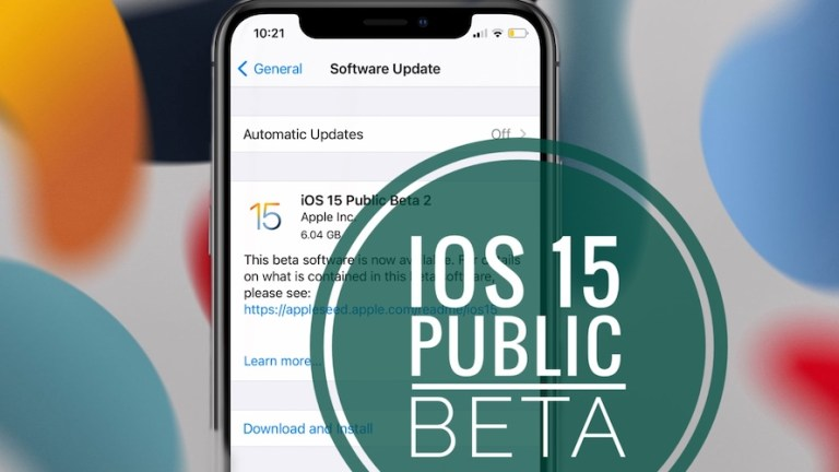 How to Update iPhone to iOS 15 Public Beta