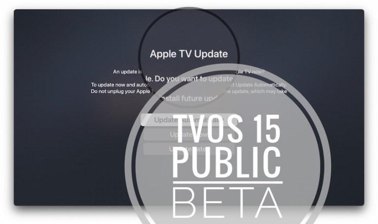 How to install tvOS 15 public beta on Apple TV