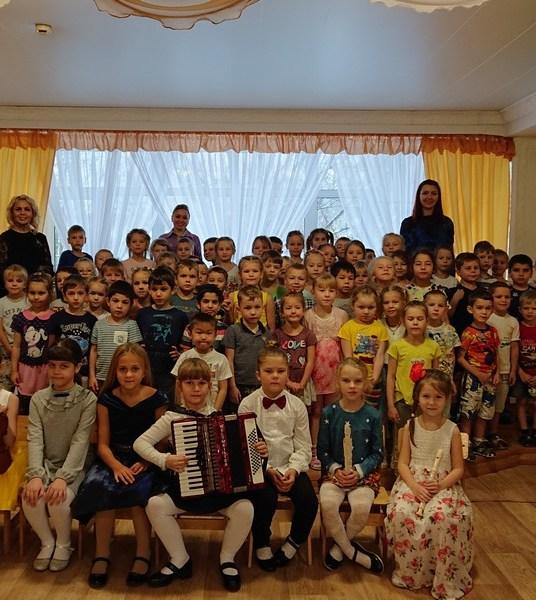 Состоялся очередной концерт юных артистов ДФ «Браво!».