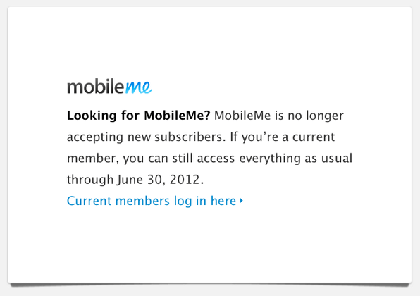 Looking for mobile me?