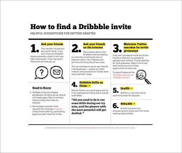 Allison House's dribbble invite