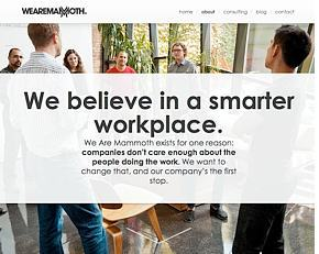 We believe in a smarter workplace.