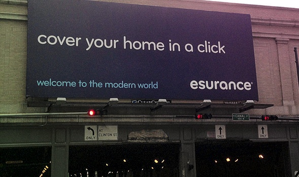 esurance billboard