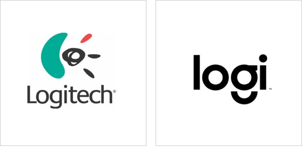 Logo redesign for Logitech