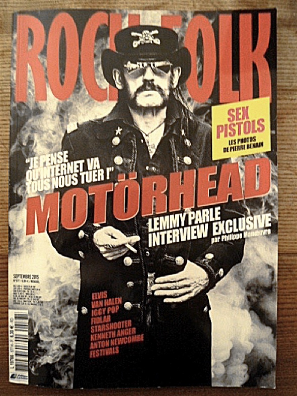Title of French music magazine Rock&Folk
