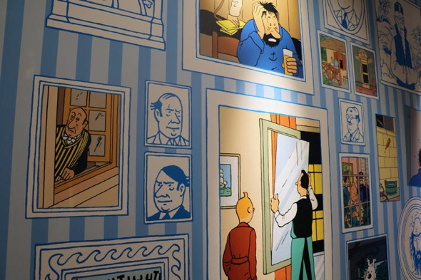 ©HERGÉ-MOULINSART 2015:SOMERSET HOUSE