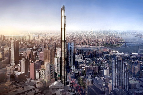 SHoP reveals plans for brooklyn's first supertall skyscraper image by SHoP architects : via new york YIMBY
