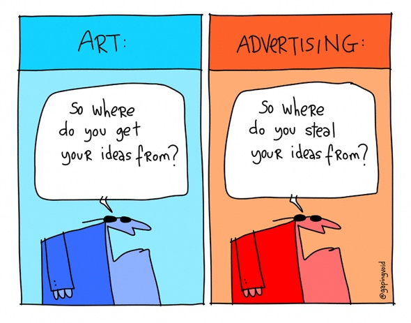Art 'n' Advertising ©gapingvoid