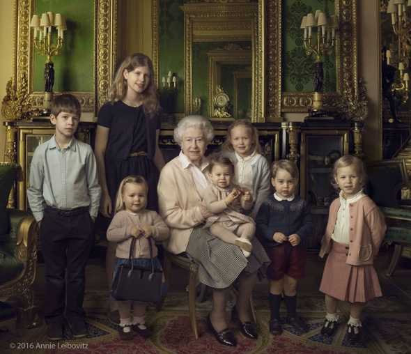 Annie Leibovitz was invited to Windsor Castle to take a series of portraits