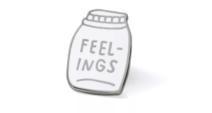 Bottled Up Feelings Enamel Pin - Adamjk Gift Shop