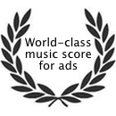 World-class music score for ads