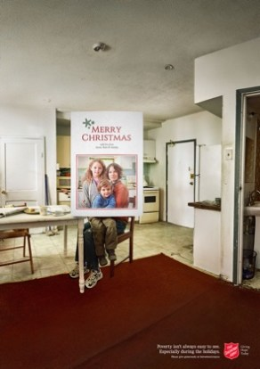Season Greetings Salvation Army/Grey Canada
