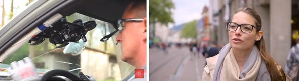 Stronghold resilience on German tv: Carglass and Fielmann glasses