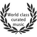 World class curated music