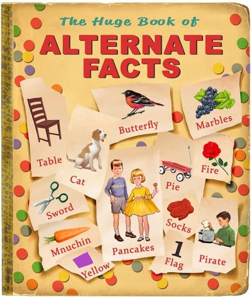 Tim O'Brien The huge book of alternate facts