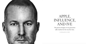Apple, Influence and Ive