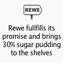 To make it through ignorance, brands must come up with a big promise. That's one side of the story. Its a different story altogether for a brand to actually and publicly fulfil their promise and that is exactly what Rewe did by stocking their shelves with the product consumers have chosen as their favorite.