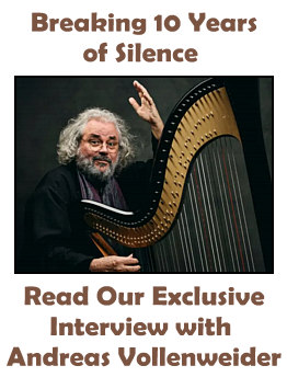 Andreas Vollenweider Interview