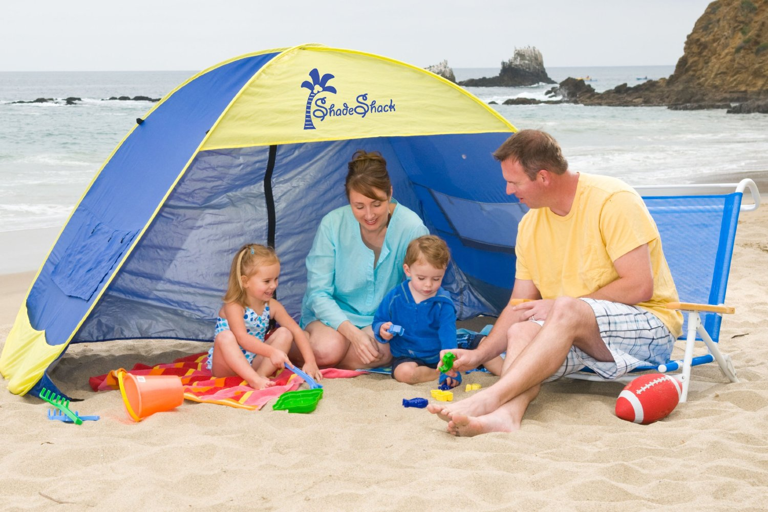 Shade Shack Pop-Up Tent & Pop-Up Tent Perfection: Lessons to Learn Before Family Beach Day