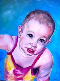 Caroline baby/oil