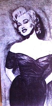 8' Marilyn/conte crayon