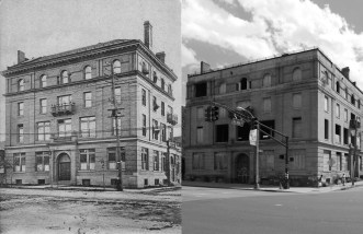 Hospital for Women & Children: Abandoned and awaiting demolition.