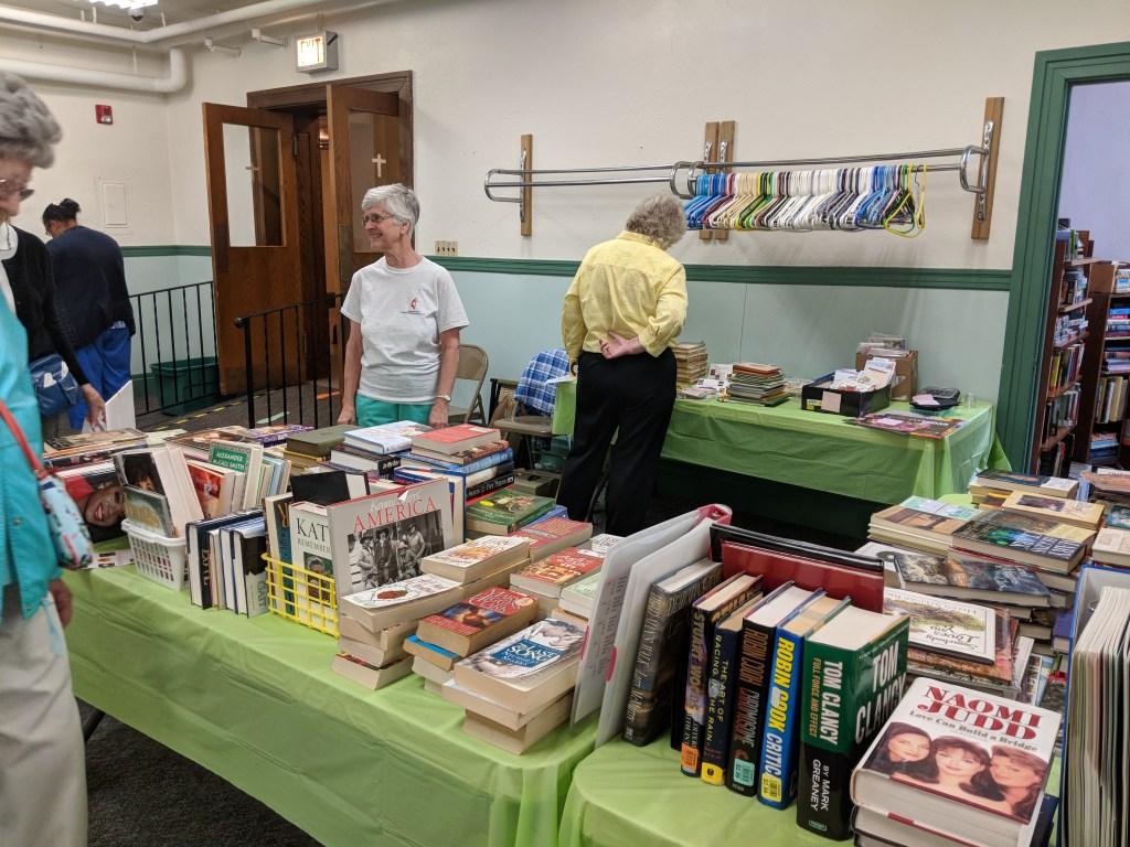 Newark FUMC 2018 Spring Bazaar Books