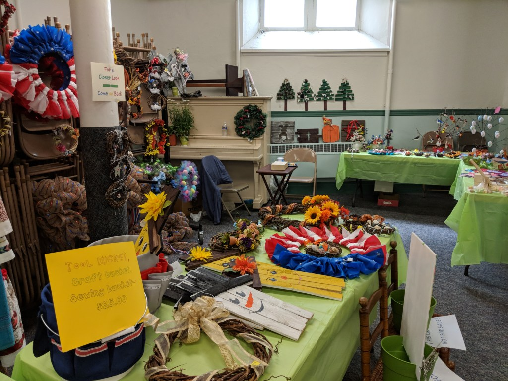 Newark FUMC 2018 Spring Bazaar Crafts #2