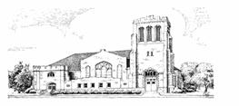Newark FUMC Pencil drawing