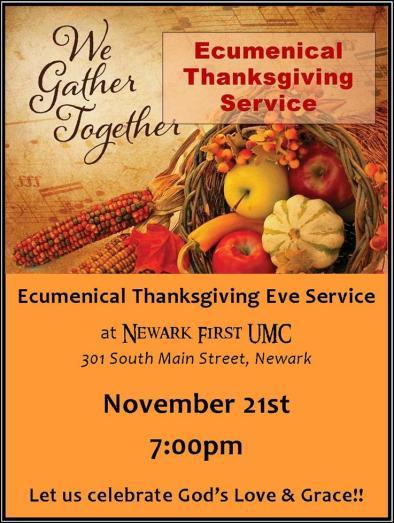 TIC Ecumenical Thanksgiving Service