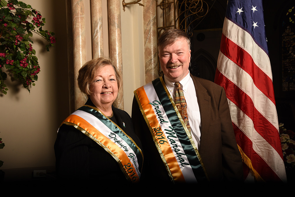 2016 Grand Marshal and Deputy Grand Marshal