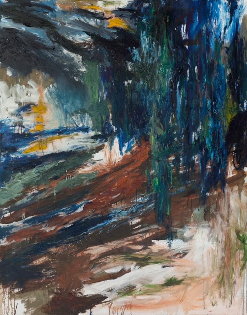 Lauren G Levine's Mornings with Jonah oil on canvas