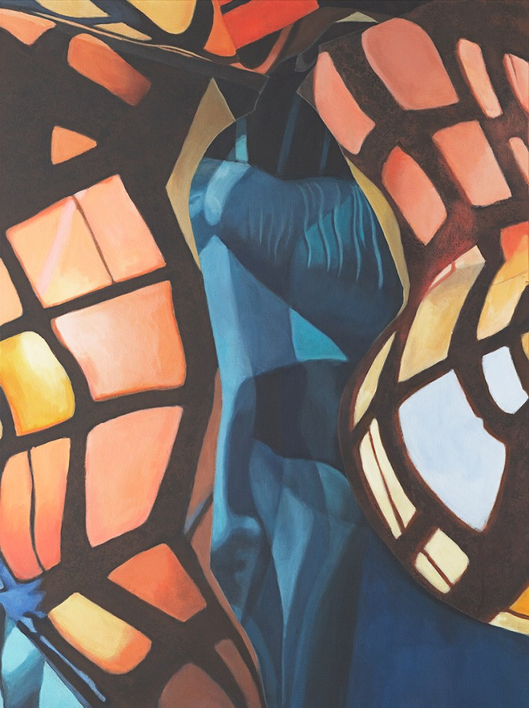 Diana Zipeto Liberty VII (Our Own Devices) Acrylic on canvas
