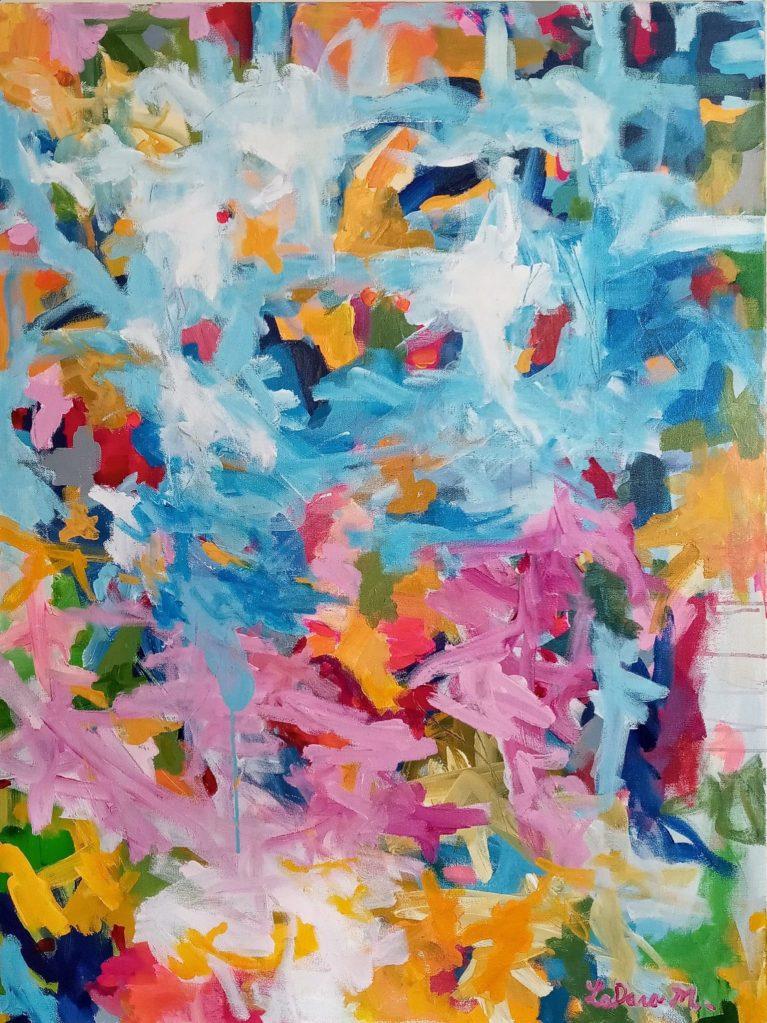LaDara McKinnon's Let It Grace Acrylic on canvas