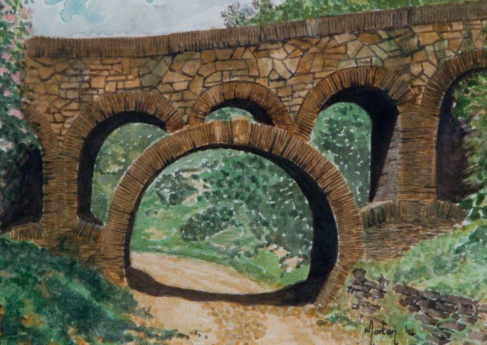 'Seven Arch Bridge' by Morton Murray