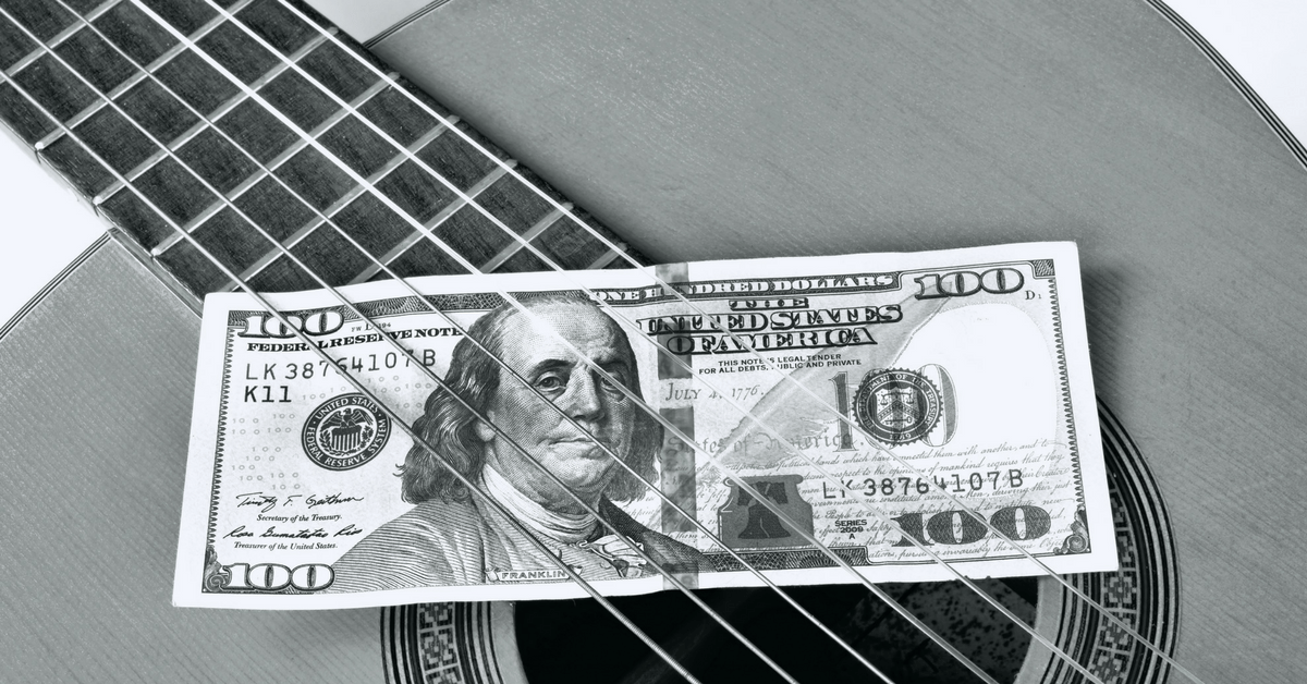 finance tips for musicians