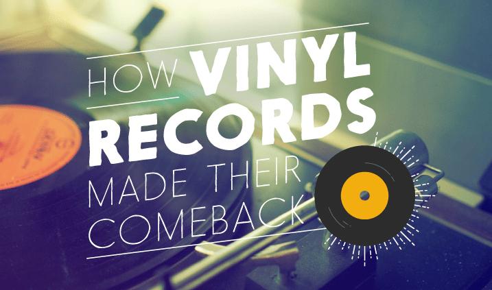 vinyl records come back