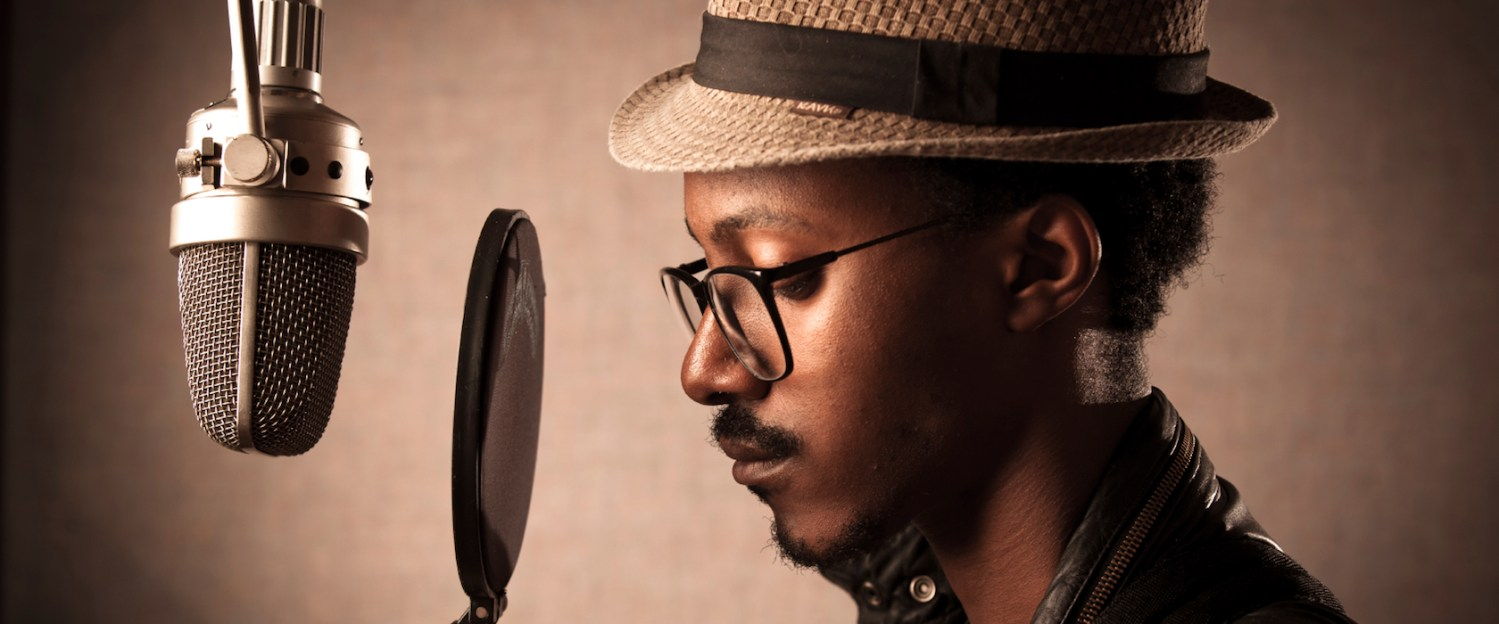 Portrait of an Introspective Recording Artist