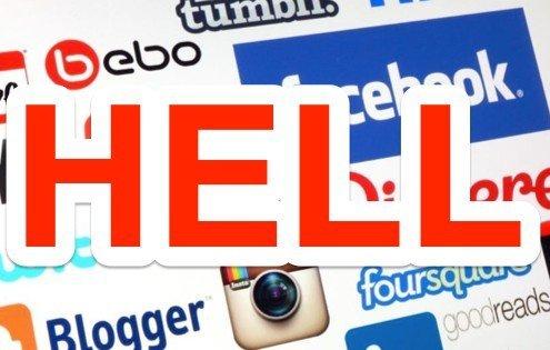 social media hell